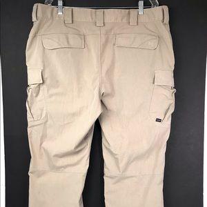 5.11 Tactical Series Pants 40x30 Tan Comfort Waist